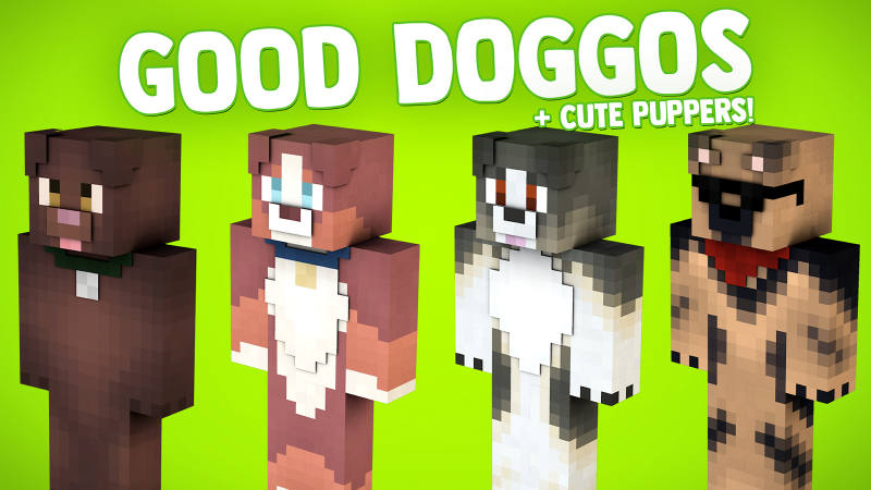 Good Doggos  Cute Puppers on the Minecraft Marketplace by BLOCKLAB Studios
