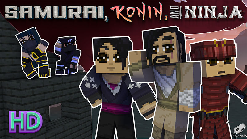 Samurai Ronin and Ninja HD on the Minecraft Marketplace by Appacado