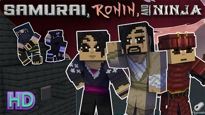 Samurai Ronin and Ninja HD on the Minecraft Marketplace by Appacado