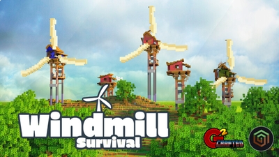 Windmill Survival on the Minecraft Marketplace by G2Crafted