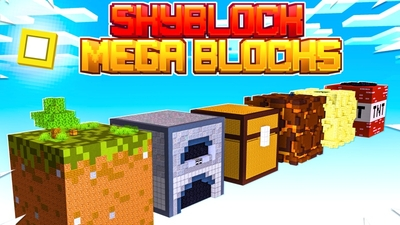 Skyblock Giant Blocks on the Minecraft Marketplace by Fall Studios