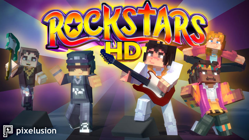 Rockstars HD on the Minecraft Marketplace by Pixelusion