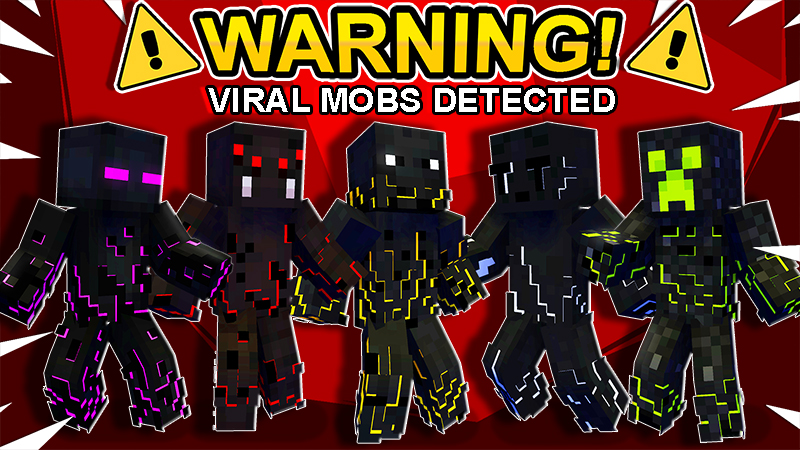 Viral Mobs on the Minecraft Marketplace by The Lucky Petals