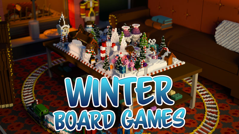 Winter Board Games on the Minecraft Marketplace by Podcrash