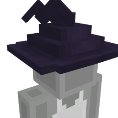 Warding Witch Hat on the Minecraft Marketplace by Tetrascape