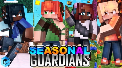 Seasonal Guardians on the Minecraft Marketplace by Entity Builds