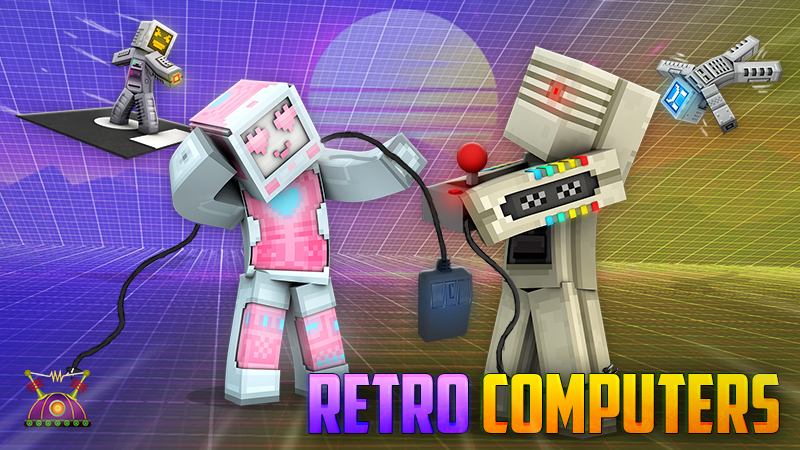 Retro Computers on the Minecraft Marketplace by Cleverlike