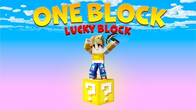 One Block Lucky Block on the Minecraft Marketplace by BBB Studios