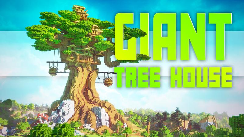 Giant Tree House on the Minecraft Marketplace by Cubed Creations
