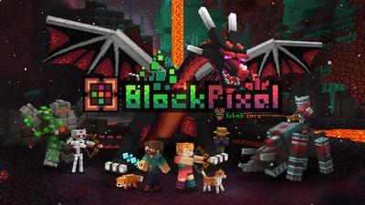 BlockPixel on the Minecraft Marketplace by RainbowPixel