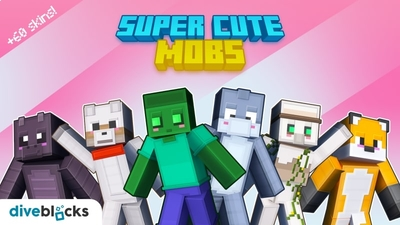 Super Cute Mobs on the Minecraft Marketplace by Diveblocks
