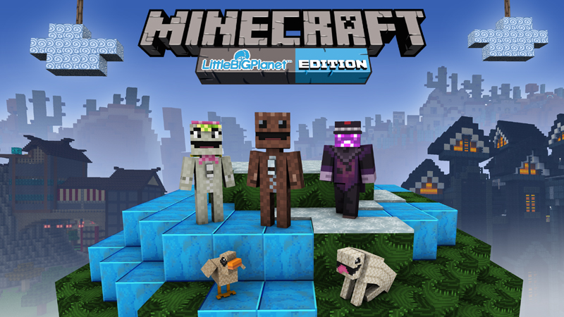 Littlebigplanettm Mash Up In Minecraft Marketplace Minecraft