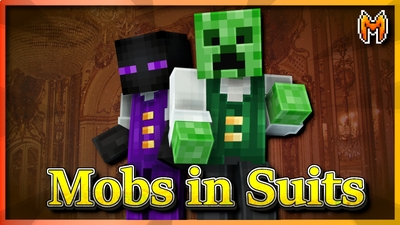 Mobs in Suits on the Minecraft Marketplace by Metallurgy Blockworks
