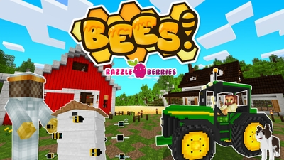 Bees on the Minecraft Marketplace by Razzleberries
