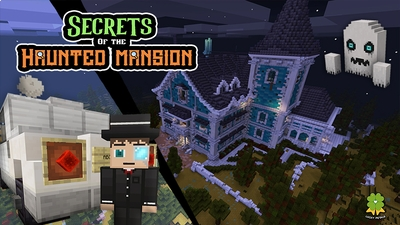 Secrets of the Haunted Mansion on the Minecraft Marketplace by The Lucky Petals