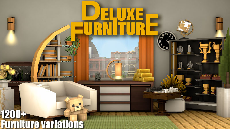 Deluxe Furniture Modern on the Minecraft Marketplace by Blockception