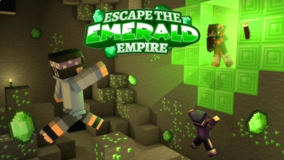 Escape the Emerald Empire on the Minecraft Marketplace by PixelOneUp