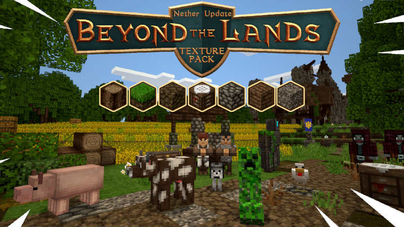 Beyond the Lands on the Minecraft Marketplace by Tomaxed