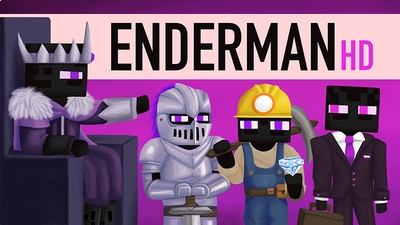 Enderman HD on the Minecraft Marketplace by BBB Studios