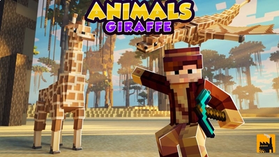 Animals Giraffe on the Minecraft Marketplace by Block Factory