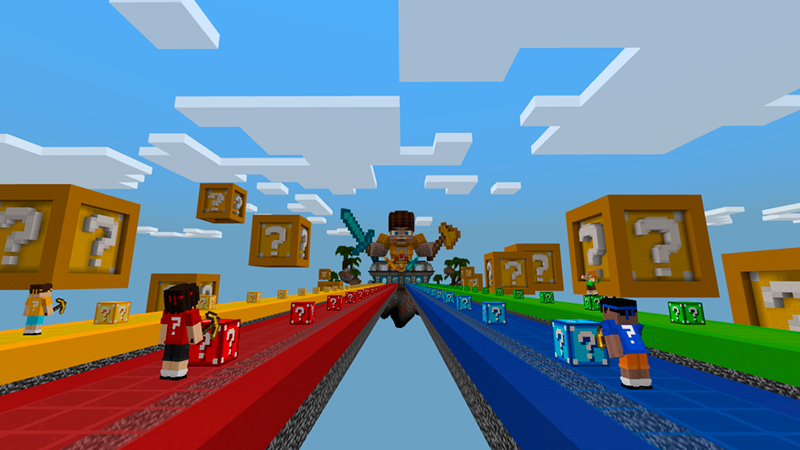 Lucky Block Race by Owls Cubed