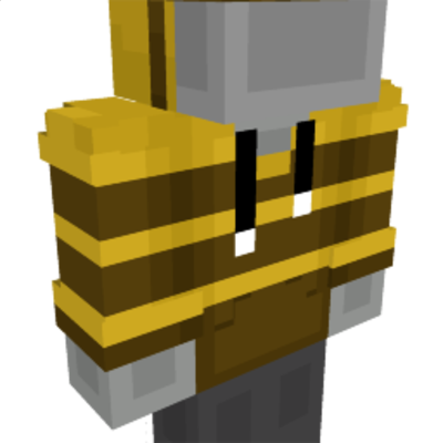 Bee Hoodie on the Minecraft Marketplace by Geeky Pixels