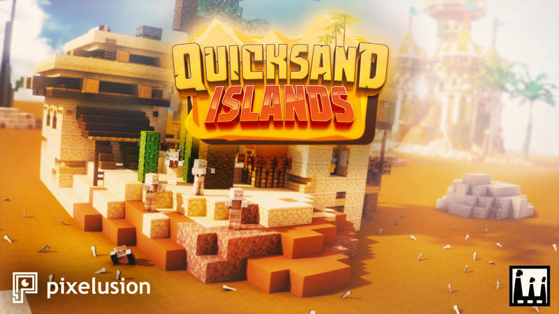 Quicksand Islands on the Minecraft Marketplace by Pixelusion