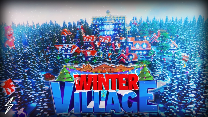Winter Village on the Minecraft Marketplace by Senior Studios