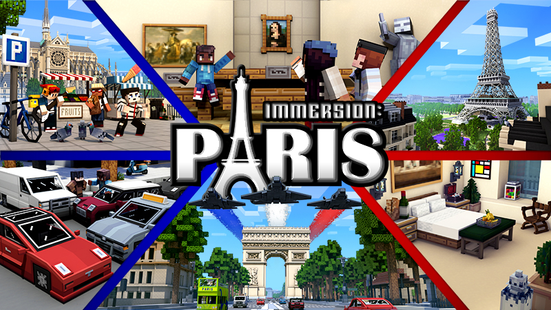 Immersion Paris on the Minecraft Marketplace by Shapescape