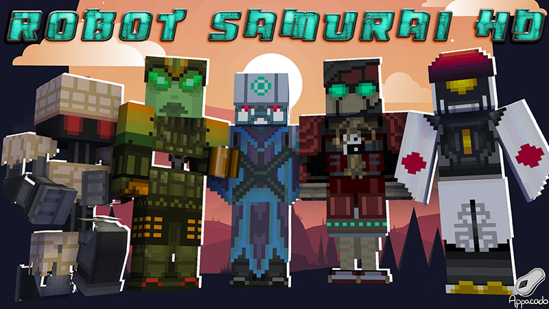 Robot Samurai HD on the Minecraft Marketplace by Appacado