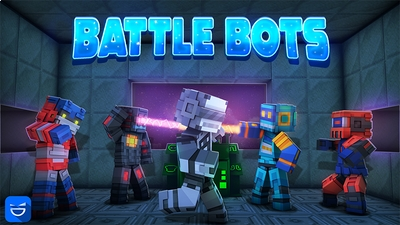 Battle Bots on the Minecraft Marketplace by Giggle Block Studios