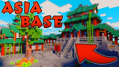 Asia Base on the Minecraft Marketplace by Mine-North