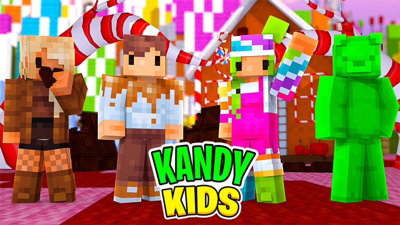Kandy Kids on the Minecraft Marketplace by Zombeanie