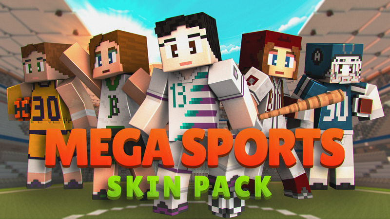Mega Sports Skin Pack on the Minecraft Marketplace by Impulse