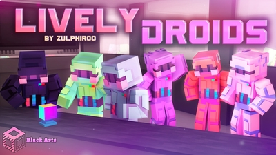 Lively Droids on the Minecraft Marketplace by Black Arts Studio