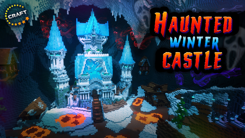 Haunted Winter Castle on the Minecraft Marketplace by The Craft Stars