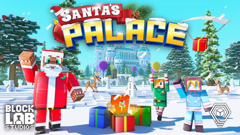 Santas Palace on the Minecraft Marketplace by BLOCKLAB Studios
