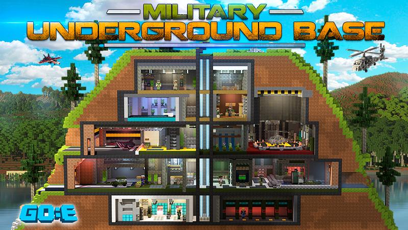 Military Underground Base In Minecraft Marketplace Minecraft