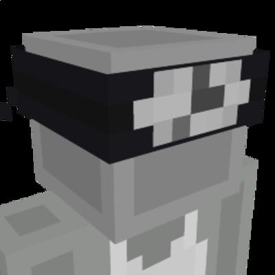 Ninja Headband on the Minecraft Marketplace by CubeCraft Games