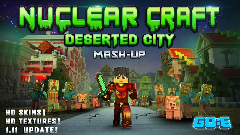 Nuclear Craft  Deserted City on the Minecraft Marketplace by GoE-Craft