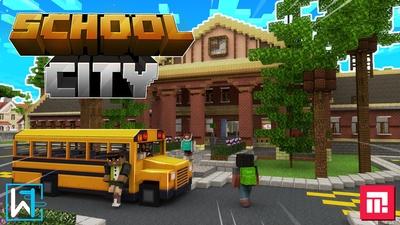 School City on the Minecraft Marketplace by Waypoint Studios