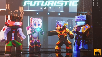 Futuristic Gamer  on the Minecraft Marketplace by Block Factory
