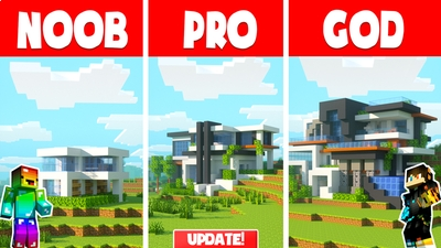 Noob vs Pro vs God on the Minecraft Marketplace by Chunklabs