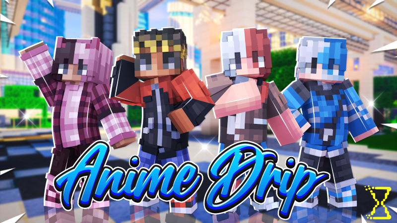Anime Drip on the Minecraft Marketplace by Hourglass Studios