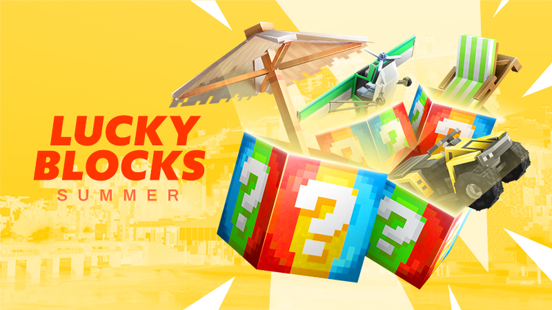 Lucky Blocks Summer on the Minecraft Marketplace by Spark Squared