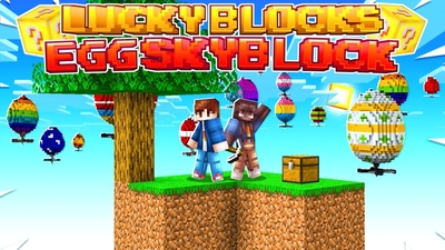 Lucky Blocks Eggs Skyblock on the Minecraft Marketplace by Fall Studios