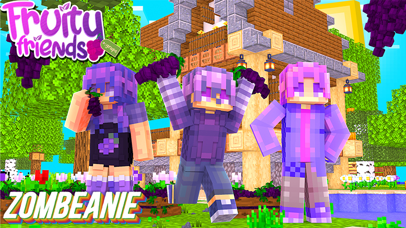 Fruity Friends Grape on the Minecraft Marketplace by Zombeanie