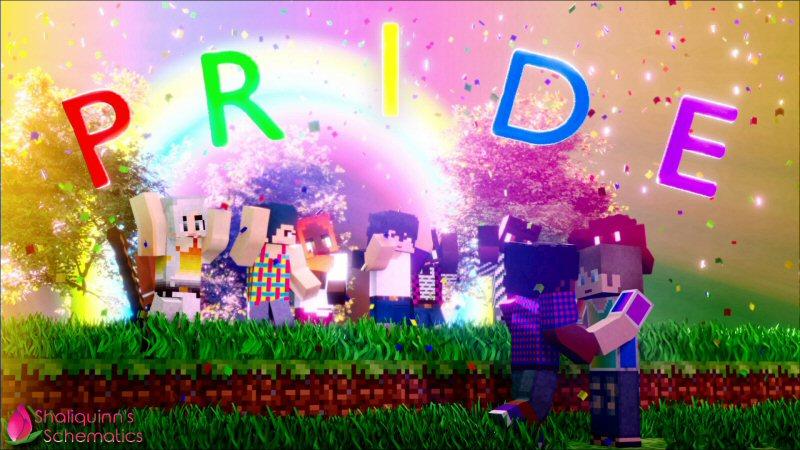 Pride on the Minecraft Marketplace by Shaliquinn's Schematics
