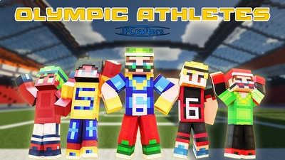 Olympic Athletes on the Minecraft Marketplace by JFCrafters