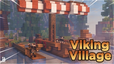Viking VIllage on the Minecraft Marketplace by Fall Studios